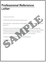 Professional Reference Letter Reference Letter For Coworker