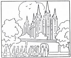 Small Picture Coloring Pages LDS Lesson Ideas Page 4