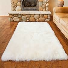 square costco sheepskin rug