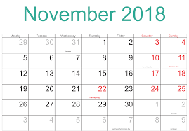 November Through November Calendars November 2018 Calendar Indonesia November Calendar Pinterest
