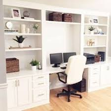 A stunning transformation of space in this Built In Desk Reveal! You will  not believe