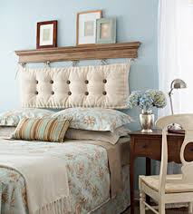Kinda simple but quite unique headboard that can be made by yourself