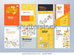 Free Flyer Layout Brochure Cover Design Flyer Layout Templates Stock Vector