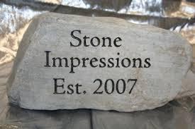 engraved garden stones. Stone Impressions 007.jpg Engraved Garden Stones N