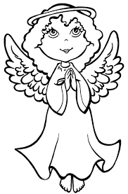 christmas angel coloring pages   learn to coloringso  share activity sheet among everyone by accessing from these christmas angel coloring pages and  ing for forwarding