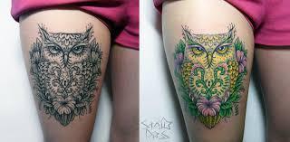 373 фото и эскизов тату сова что значит татуировки совы