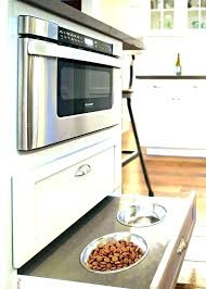 Microwave Drawer In Island Kitchen Th Transitional  D32