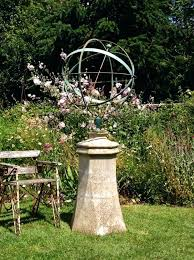 large sphere and base armillary garden s
