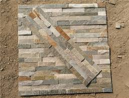 P014 Slate Wall Stone Cladding Corner Prices, Cultured Stone, Stacked Stone  Veneer Walls,