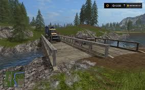 Wooden Bridge Game Wooden Bridge Mod for Farming Simulator 100 Objects 64