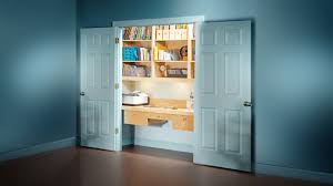 How to Turn a Spare Closet Into a Home Office