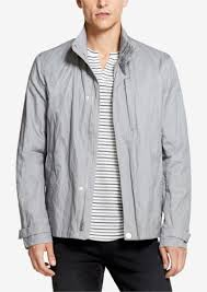 dkny men s cotton metal jacket created for macy s