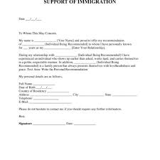 Reference Letter For Immigration Free Character Reference Letter For Immigration Template Examples