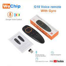 G10 2.4G Tiếng Nói Chuột Con Quay Hồi Chuyển 6 Trục Bay Chuột Hồng Ngoại  Học Chức Năng Điều Khiển Từ Xa Làm Việc Với Android hộp Điều Khiển  TV|bcm4505 tuner