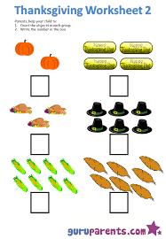 Thanksgiving Worksheets | guruparents