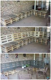 wooden pallet furniture ideas. DIY Patio Pallet Furniture Set Instructions - Outdoor #Furniture  Ideas Wooden Pallet Furniture Ideas