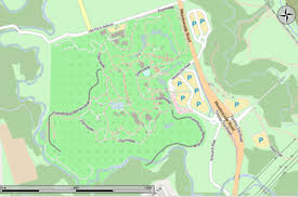 simple zoo map for kids. Contemporary Simple Map Showing The Extent Of Toronto Zoo For Simple Zoo Kids P