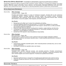Samples Of Administrative Resumes Objective For Resumes General Resume Examples Of Administrative 21
