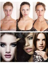 no makeup before and after wft and there the most beautiful women