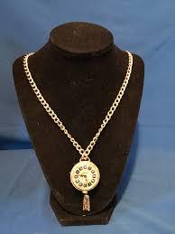vintage lucerne watch pendant necklace