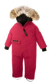 Canada Goose Baby Snow Bunting Pink Free Shipping