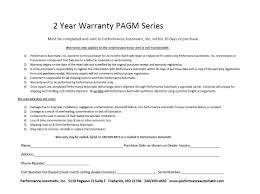 pagm warranty performance automatic transmission warranty form blue print pagm warranty performance automatic transmission warranty form details