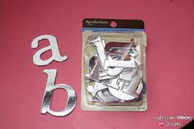 best ideas of small metal letters michaels for sheets