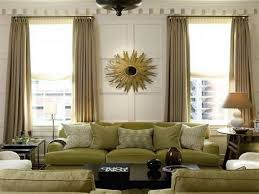 Green And Cream Living Room Curtains