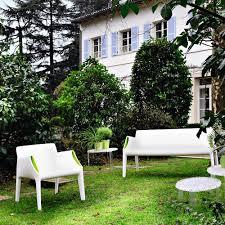 Kartell Magic Hole Outdoor Sofa  WhiteGreen  HouseologyKartell Outdoor Furniture
