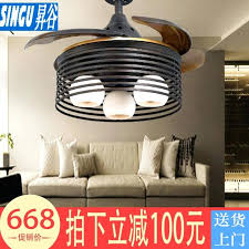 chandelier motor dining room invisible fan light bedroom study with light ceiling fan fan chandelier three