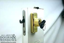 patio sliding door hardware defender security u patio sliding door loop lock increase home security install