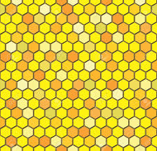 Beehive Pattern Beauteous Vector Seamless Repeating Pattern Of Hexagon Beehive Honeycombs