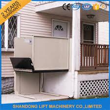 wheelchair lift for home. Plain Home Mini Hydraulic Home LiftsHome Outdoor Wheelchair Lift With For I