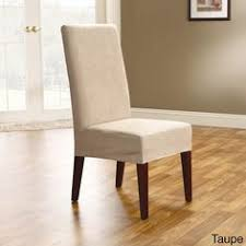 short dining chair slipcovers