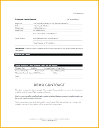 Vacation Request Forms For Employees Employee Leave Form Template Vacation Request Form Plate Excel