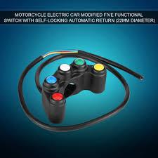 <b>Universal Motorcycle</b> Handlebar <b>Switch</b> ON/OFF Push Button ...