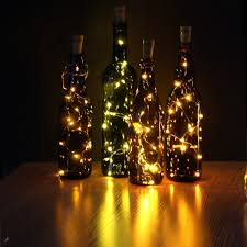 jojoo set of 6 warm white wine bottle cork led lights copper wire starry lights battery powered led lights for party decor gift or night lights lt015 6