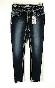 Wallflower Jeans Womens Junior Denim Legendary Skinny Jean