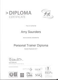 our team urban energy fitness  pt diploma