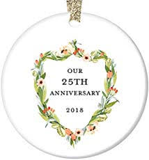 great deals on twenty fifth anniversary gifts