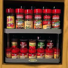lazy susan spice rack target simple solutions stow n spin two tier turntable