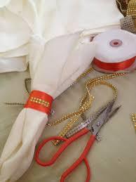 image image for this diy wedding reception napkin ring