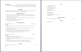 Bartender job description resume and get inspired to make your resume with  these ideas 2