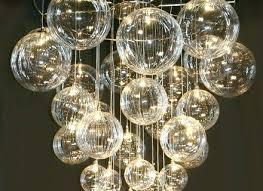 chandelier astounding bubble light chandelier floating glass bubble light chandelier bubble light chandelier diy