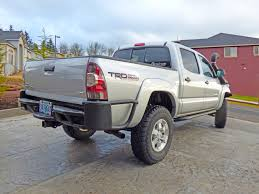 2013 toyota tacoma dc trd built icon lifted armored 36 000 it has some nice details like the 7 pin trailer wiring connector relocated into the bumper retains factory license plate lights clean appearance