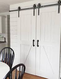 the barn door hardware a double sliding barn door hardware kit with 8 track as well as many other barn door hardware options