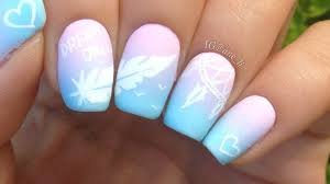 Dreamcatcher and Feather Nail Art - YouTube