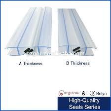 appealing glass sealer for shower doors engaging shower glass door seal strip glass door seal weather