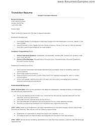 Psychology Resume Objective Gorgeous Interpreter Resumes Spanish Resume Objective Sample Theseventhco