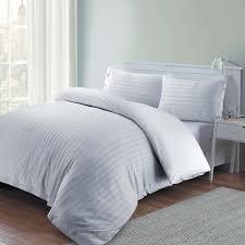 100 luxury hotel quality egyptian cotton satin stripe
